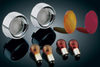Kuryakyn Turn Signal Bezels, Lenses & Bulbs Available in Red or Amber for Vulcan 1600 Classic & Nomad 1600 '03-08