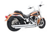 Freedom Performance Exhaust Patriot (LG) Slash for '86-17 Softail -Chrome