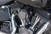Joker Machine High Performance Air Cleaner Assemblies for  '91-06 XL Models w/ CV Carb -Finned Black