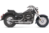 Cobra Drag Pipes Semi-Full System for  '04-11 Yamaha V-Star 650 Classic - Chrome