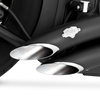 Vance & Hines Big Radius 2-Into-2 Exhaust for Softail Models '86-17 - Black