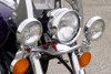 National Cycle Chrome Light Bar for Vulcan 800A '95-05 Not for Classic