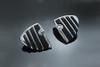 Kuryakyn  Male Mount Pegs ISO Wing Footpegs  -Pair   Does not fit the Sportster 48, 72  & '11-12 XL1200C Models