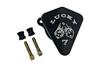 Joker Machine High Performance Diamond Air Cleaner '01-17 Twin Cam Models w/ Delphi EFI  (Excludes 08-17 FLH, FLT; 16-17 FLSTFS, FLSS ) - Lucky 7, Black