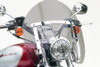 National Cycle SwitchBlade Windshield for FX  Wide Glide w/ 41mm Fork Tubes - Shorty, Tinted Style