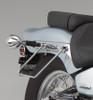 Show Chrome  Saddlebag Support Stays for VLX600 '99-Up