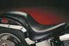LePera Silhouette Seat for '00-05 FXST, '00-Up FLST (except FXSTD,FLSTN, '07-11 FLSTF, '08-11 FLSTB) w/ Biker Gel