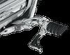 Kuryakyn Ergo II Cruise Mounts Mini Arms w/ Dually ISO-Pegs for GL1800 '01-17 and '13-16 F6B