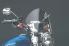 National Cycle SwitchBlade Windshield for FXCW/FXCWC Rocker/Custom '08-09 - Shorty, Clear Style