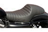 Saddlemen Americano Cafe Seat for '04-Up XL Models w/ 3.3 Gallon Tank -Classic, Pleated