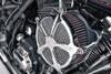 Roland Sands Design Venturi Speed 5 Air Cleaner for FL Models '08-16 Chrome