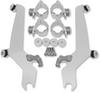 Memphis Shades Sportshield No-Tool Windshield Mounting Hardware for V-Star 650 Custom  '98-Up