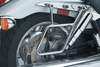 National Cycle Mount Kit for Cruiseliner Hard Bags Softail Fat Boy FLSTF '03-06 -Chrome