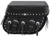 Boss Bags #38 Model Studded on Lid & Bag Body  w/ Conchos on Body for Harley Models