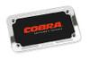 "Cobra Billet License Plate Frame Small (7 1/4"" x 4 1/4"")"