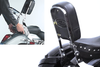 National Cycle-Paladin QuickSet3 Backrest for VTX1300C '04-up QuickSet3 Mounting System Sold Separately