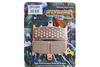 EBC Brake Pads REAR Extreme Performance Sintered Metal Pads for '06-07 FXST/FXSTB/FXSTC/FXSTS, '07 FLSTF-Pair OEM# 46721-06