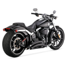 Vance & Hines Big Radius 2-Into-2 Exhaust for '13-17 Softail Breakout/CVO Models Black