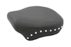 Mustang  Wide Rear Seat  for Softail FXST '06-Up & Fat Boy FLSTF '07-Up w/ 200mm Wide Tire -Studded