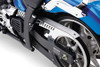 Cobra Drive Belt Guard with laser cut scalloped designs