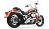 Freedom Performance Exhaust Radical Radius System for '86-17 Softail Models -Chrome