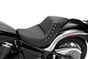 Saddlemen Renegade Solo Seat  for  Vulcan 900  Classic  '06-Up -Studded Saddlehyde
