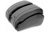 Saddlemen Cruis'n Deluxe Saddlebag Set Including Chrome Saddlebag Supports