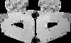 Memphis Shades Bullet Fairing Hardware for VTX1300C '04-09 w/ Exposed Forks -Polished