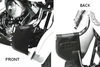 Lindby Studded Lowers for Lindby Highway Bars for V-Star 650 '98-06 -Click for Fitment Detail