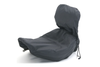 Mustang  Seat Rain Cover for Solo Seat with Driver Backrest