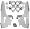 Memphis  Shades Batwing Windshield Mounting Kit for Spirit 1100 '97-08-Polished FAIRING AND WINDSHIELD NOT INCLUDED
