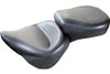 Mustang  One-Piece Wide Super Touring Seat  for Springer Classic '06-07  & Heritage Classic '07-15  (with Standard Rear Tire)-Vintage/Plain