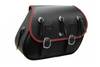 Boss Bags Close Fitting  #37 Model w/ Conchos (Red Trim Shown) for Softail Models
