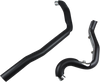 Cobra True Duals Header System for '07-08 Harley Davidson Touring Models (Choose Chrome or Black)