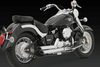 Vance & Hines Staggered Shortshots Semi-Full Exhaust for V-Star 650 '04-05 (49-State Models)