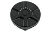 Performance Machine Replacement Fuel Gauge Cap w/ LED Fuel Light for L96-13 H-D Models -Array, Black Ops