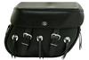 Boss Bags #38 Model  Plain Style w/ Conchos on Bag Body