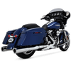 Vance & Hines 4.5 inch Hi Output Slip On Mufflers for '17-Up Harley Davidson Touring Models  -Chrome
