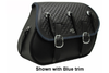Boss Bags #32 for Dyna '94-up Basket Weave w/ Conchos