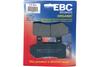 EBC Brake Pads REAR Semi Sintered V Pads for '86-99 FLT/FLHT/FLHTCI'94-99 FLHR/FLHRCI-Pair OEM# 43957-86/86A/86B/86D