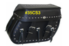 Boss Bags #35 Model for Dyna '94-Up  Studded on Body, Lid Valance & Top w/ Three Conchos on Body