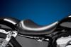 LePera Bare Bones Series Solo Seat for '04-06/10-Up Harley Davidson XL883/1200 Custom w/ 4.5 Gallon Tank -Smooth