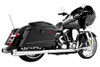 Freedom Performance Exhaust American Outlaw Dual System for '09-16 FLH/FLT -Chrome