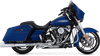 Vance & Hines  Power Duals Headers for '17-Up Harley Davidson Touring Models Chrome