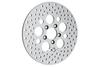 Drag Specialties Polished Stainless Steel Brake Rotors