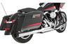 Rinehart Racing 2-into-1 Exhaust for Harley Davidson Touring '95-08 Black Tip