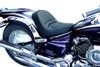 Saddlemen Renegade Deluxe Seat for Road Star 1600/1700 '99-Up Plain Saddlehyde