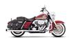 "Rinehart Racing Classic Duals for '09-16 HD Touring Models -3.5"" Mufflers Chrome w/ Black End Caps"