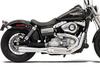 Bassani Road Rage 2-Into-1 System for XL '04-13 Black, Short Upswept w/ Heat Shield