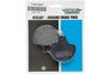 Drag Specialties REAR Organic Kevlar® Brake Pads for '06-07 FXSTB/C, '07 FLSTF OEM #46721-06-Pair